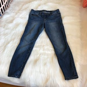 GAP Medium Wash Skinny Jean Leggings Size 27